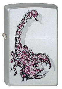 ZIPPO ЗАЖИГАЛКА 205 Scorpion Color