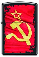 ZIPPO ЗАЖИГАЛКА 218 Soviet Flag Sickle