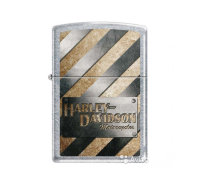 ZIPPO ЗАЖИГАЛКА 207 HD METALL STRIPED