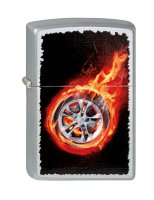 ZIPPO ЗАЖИГАЛКА 205 TIRE ON FIRE