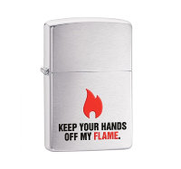 ZIPPO ЗАЖИГАЛКА 28 649 KEEP YOUR HANDS...
